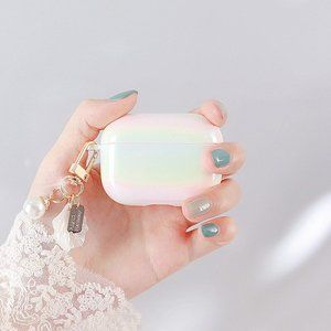 Accessories - NEW Shell Hard Apple Airpods 1 2 Pro Keychain case